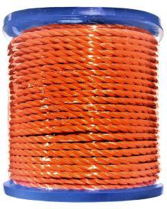 Polypropylène torsadé orange bobine