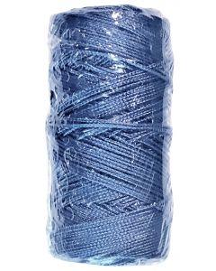 Corde de maçon ronde nylon bleu sous film