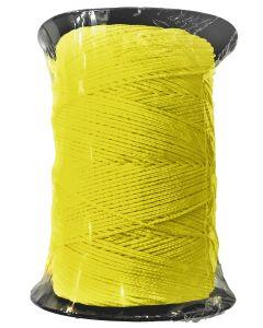 Corde de maçon ronde nylon jaune bobine
