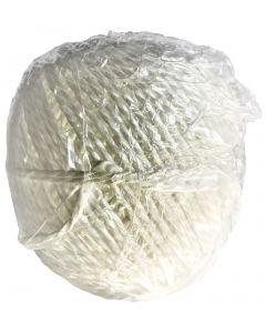 Corde d'emballage polypropylène blanc