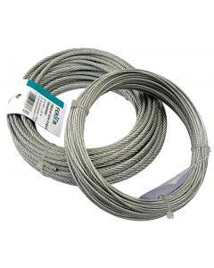 Cable en acier plastifié rouleau