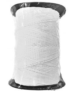 Corde de maçon ronde nylon blanc bobine