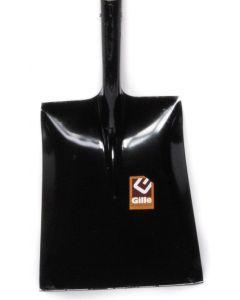 Pelle à lest acier nr. 8 toute noir